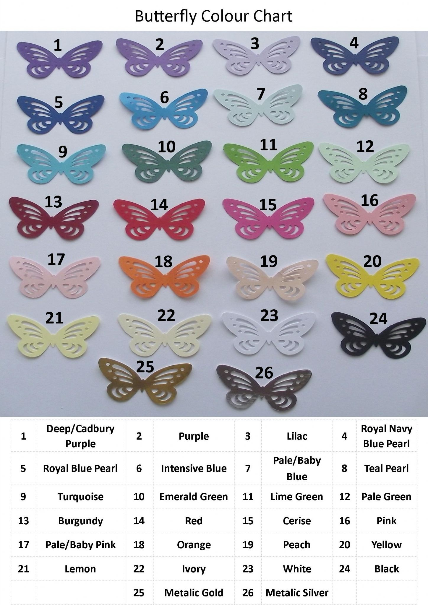Save the Date Invitations Cards Butterfly Scroll Design various ...